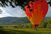 Hot-Air Balloon in Alsace